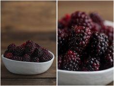 Blackberry Crisp Ice Cream (+ Berry Picking)