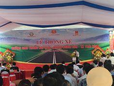 Cho thuê nhà bạt-Lễ thông xe tuyến đường nối Quốc lộ 1A-Nghĩa Đàn