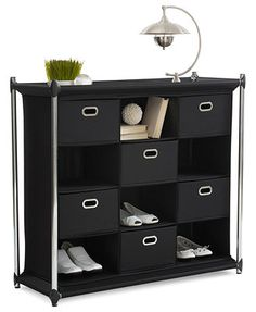 Neatfreak Storage Cabinet, 12 Compartment Cube Uptown - Something like this for shoe storage