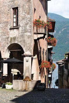 scorcio Cannobio, Lago Maggiore, the Lakes of Northern Italy are magnificence personifed.