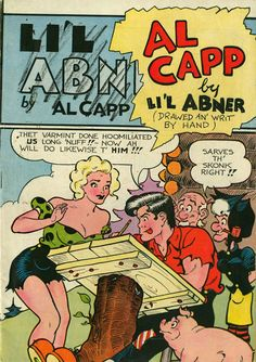 Adult sex cartoons lil abner