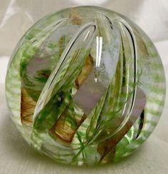 BEAUTIFUL CAITHNESS GLASS PAPERWEIGHT FIESTA ALASTAIR MACINTOSH #2