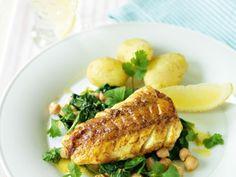» Currystekt torsk med smör- och citronstekta kikärter – Recept – Allt om Mat