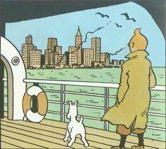 Tintín en América (Tintin en Amérique, 1931-1932) es la tercera historieta de la serie Tintín Si bien la primera parte de la historia transcurre en Chicago, donde el protagonista se enfrenta a gángsters y matones, la trama también gira alrededor del pueblo indio que tanto fascinó al autor en su niñez. Se trata del único álbum de Tintín en el que aparece un personaje real con su propio nombre: Al Capone.