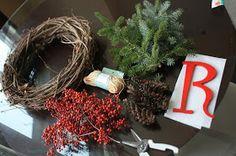 lucem quaero: DIY Christmas Wreath
