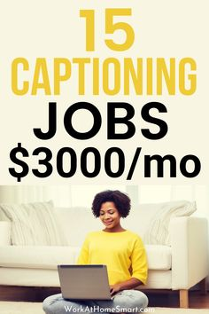 Looking for the best work from home captioning jobs? Check out this list of online captioning jobs for beginners and pros. Typing Jobs From Home, Online Typing Jobs, Best Online Jobs, Medical Transcription Jobs, Transcription Jobs For Beginners, Work From Home Tips, Make Money From Home, Captioning Jobs, Online Job Opportunities
