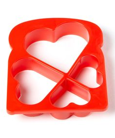 Look at this R&M Heart-Shaped Toast Cutter on #zulily today!