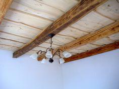 öreg tetőfa paraszt mennyezet, fa födém Decor, Ceiling Lights, Ceiling, Home Decor, Light, Track Lighting