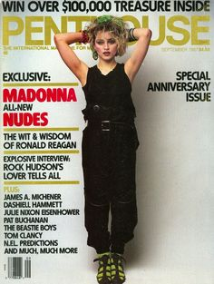 Madonna On Penthouse Magazine   #madonna #mdna #queen #blonde #music…