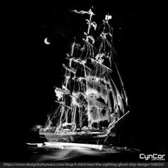Grab your eye patch and nab one of our ultra cool Ghost Ship graphic tees at our @designbyhumans store this May. And it's a  #PiratesLife for you. https://www.designbyhumans.com/shop/t-shirt/men/the-sighting-ghost-ship-design/168050/ You can also some more of our awesome art on #iphonecases #tanktops and other great stuff. #clothing #fashion #2016fashion #tshirts #cyncorartworks #tshirts #tshirt #designbyhumans #instagram #PiratesoftheCaribbean #POTC5