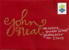 pushing the envelopes: john's holiday