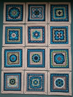 Ravelry: koernerklaus' Only Polly Afghan