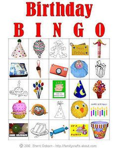 Free printable Bingo for kids.  Birthday, animals, educational, seasonal - print multiple cards and call out sheet- all FREE!!