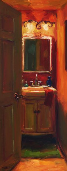 The Powder Room by Pam Ingalls