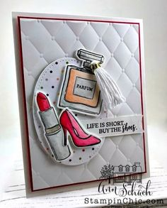Ann Schach creates a fashionable friend card for the fashion conscious pals we all have. Featured is Stampin' Up!'s Dressed to Impress bundle. Free tutorial Source by sumilulu dress 2020 Card Making Tutorials, Making Ideas, Karten Diy, Make Your Own Card, Hobbies For Men, Stamping Up Cards, Cards For Friends, Handmade Birthday Cards, Diy Scrapbook