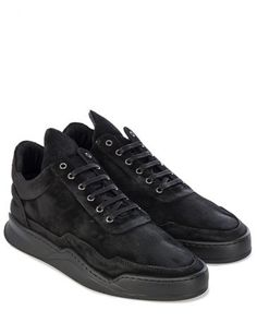 Filling Pieces GHOST ALL BLACK Sneakers Schwarz