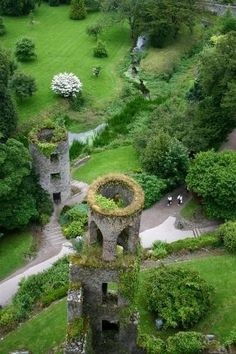 Blarney Castle in Cork City, Ireland