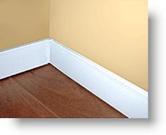 Slimline radiant baseboard heaters - way better looking than the regular baseboard heaters. Can't even tell!