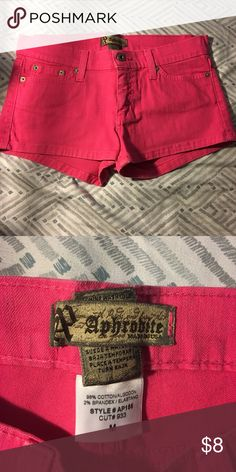Women's shorts Used by my teenager a few times. Still in good condition. aphrodite Shorts