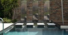 Creative design and meticulous installation has earned Fynbos a leading reputation in the field of landscaping. Koi Ponds, Natural Swimming Pools, Water Features, Modern Contemporary, Creative Design, Fields, Landscaping, Mansions, House Styles