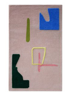 <p>The series of beautiful, graphic rugs by Alex Proba started as an art project. Titled 'A Poster a Day', it aimed to create a year compendium of visuals and collages. We LOVE them! Takin
