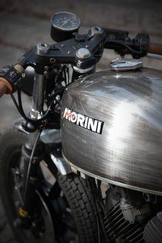Custom Moto Morini 350 - TREEMMEZZO by Emporio Elaborazioni Meccaniche