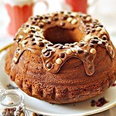 Nutella Bundt Cake by Mala_Cukierenka