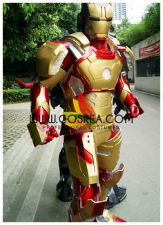 Marvel Iron Man MK42 Ultimate Cosplay Costume