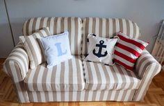 Marynarski pokój chłopca styl marine