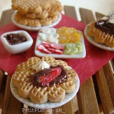 Miniature Waffle Party | Flickr - Photo Sharing!