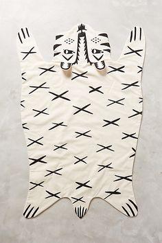 """Jungle Tiger Blanket #anthropologie Cotton Machine wash USA 45""""L, 26""""W"""