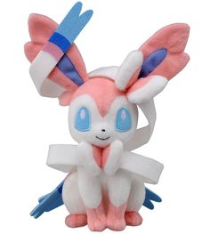 Takaratomy Pokemon Best Wishes Plush Doll  - Sylveon