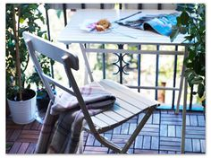 small garden patio balcony ideas get inspired with ikea this table really