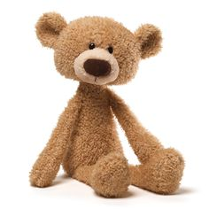 """TOOTHPICK BEIGE BEAR 15""""  GUND ®"""