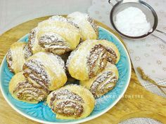 Raspberrybrunette: Orechové fornetti Pretzel Bites, Gluten Free Recipes, French Toast, Muffin, Food And Drink, Bread, Breakfast, Sweet, Basket