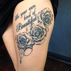 25 ideas for tattoo girl design middle - 25 ideas for tattoo girl design middle . - 25 ideas for tattoo girl design center – 25 ideas for tattoo girl design center – - Piercing Tattoo, Tattoo Femeninos, Form Tattoo, Thigh Tattoo Quotes, Shape Tattoo, Rose Tattoo Thigh, Dope Tattoos, Badass Tattoos, Pretty Tattoos
