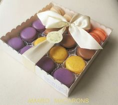Amaro macarons para regalar
