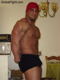 a french bodybuilder big hot strong man france