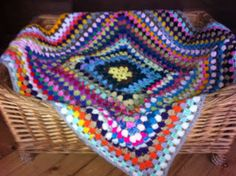 "Hooked !! A Crochet Addicts Blog The BITSA blanket I am making for my puppy Scrumpy who's a Bitsa!  So Blanket made from ""bitsa"" wool for my puppy who's a bitsa - bit of this, bit of that!"