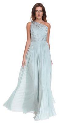 Óptima opção para a tendência de vestidos compridos