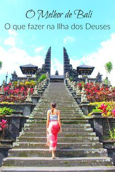 O Que Fazer em Bali: O Melhor da Ilha dos Deuses!  Descubra como organizar seu roteiro de viagem, o fazer em Bali e como explorar a ilha dos Deuses.  Onde ficar em Bali, onde surfar, e como curtir a natureza incrível da Indonésia. via @loveandroad