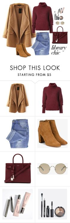 """untitled 558"" by deboraaguirregoncalves on Polyvore featuring moda, WithChic, BY. Bonnie Young, Taya, Aquazzura, Yves Saint Laurent, Tura e Avenue"