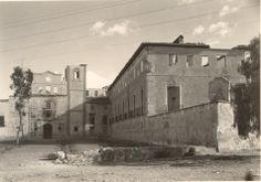 Convento de Santa Catalina del Monte. La Alberca. Murcia.En 1936 fueron quemados y destruidos la iglesia y el convento, junto con los bienes muebles que albergaban en su interior, así como su magnífica biblioteca.