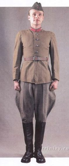 Uniformes del Ejército Rojo VII-10