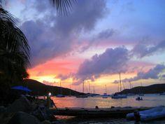 Another beautiful sunset!   We <3 Virgin Gorda! Sunset in Leverick Bay   #sunset #ocean #calm #bvisunset #mosquitoisland #paradise #bvi #virgingorda #leverickbay #britishvirginislands #caribbean #marina #sailing #boats #travel #vacations #summer #BVI