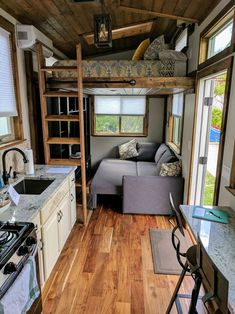Teton Tiny Home &; Tiny House for Sale in Ogden Utah Teton Tiny Home &; - Teton Tiny Home &; Tiny House for Sale in Ogden Utah Teton Tiny Home &; Tiny House for Sale in Ogden - Tiny House Loft, Tiny House Plans, Tiny House Design, Tiny House On Wheels, Cabin With Loft, Tiny House 2 Bedroom, Tiny Guest House, Tiny House Family, Building A Tiny House