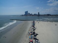 A birds eye view of the Brigantine Jetty Birds Eye View, Eyes, Beach, Water, Outdoor, Water Water, Outdoors, Seaside, Outdoor Games