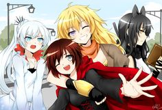 """""""This is not a vacation!""""-W""""Calm down, Ice queen""""-B[Rwby](Daily purple eyes #86)"""