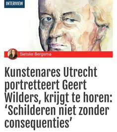 Kunstenares Utrecht portretteert Geert Wilders, krijgt te horen: 'Schilderen niet zonder consequenties' http://cult.tpo.nl/2017/05/15/utrechtse-kunstenares-portretteert-geert-wilders-krijgt-horen-schilderen-zonder-consequenties-is/ via @TPOnl