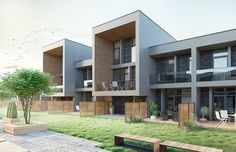 multi residential complex in Vilnius by Ng architects www.ngarchitects.lt